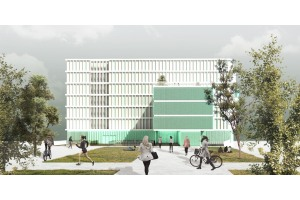 The new student residence at Campus Diagonal - Besòs will be connected to DISTRICLIMA